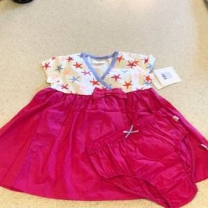 ❄️ 3/$20 Rosie Pope Dress with Diaper Cover